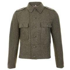 WW2 German M44 Field Grey Wool Tunic