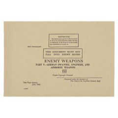 WW2 British Army Guide to Enemy Weapons