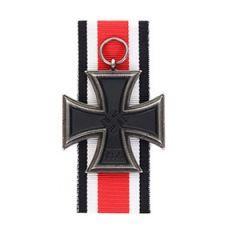1939 Iron Cross 2nd Class with Ribbon - Aged Thumbnail