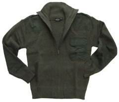 Olive Green Army style Cardigan