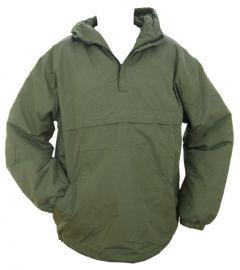 Olive Green Fleece Combat Anorak