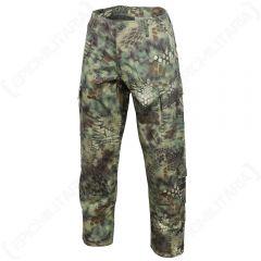 Mandra Woodland Camo US ACU Trousers
