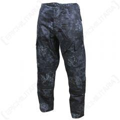 Mandra Night Camo US ACU Trousers