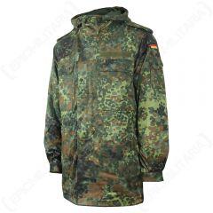 Flecktarn Camo German Army Field Jacket