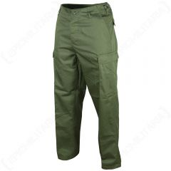 US Ranger BDU Trousers - Olive Green