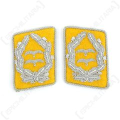 Luftwaffe Flieger Division Oberstleutnant Collar Tabs - Yellow