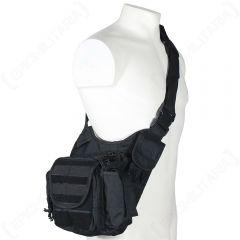 Black MOLLE Shoulder Pack