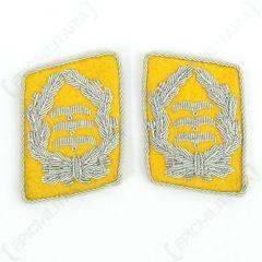 Luftwaffe Flieger Division Oberst Collar Tabs - Yellow