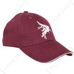 Maroon Pegasus Baseball Cap