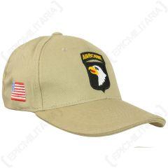 Khaki US 101st Airborne Baseball Cap main