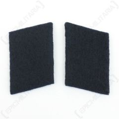 Luftwaffe Medical Division Collar Tabs - Dark Blue