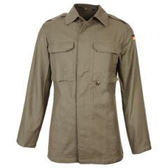 Original German Old Style Moleskin Field Jacket - Olive Drab