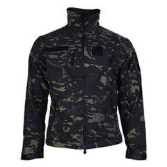 SCU Softshell Jacket - Multitarn Black
