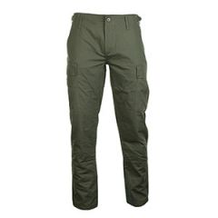 US BDU Slim Fit Field Trousers - Olive Green