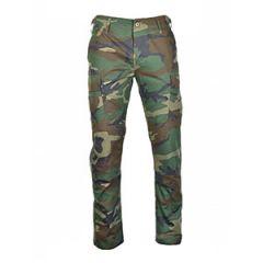 US BDU Slim Fit Field Trousers - Woodland