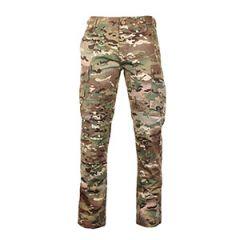 US BDU Slim Fit Field Trousers - Multitarn