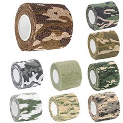 4.5m Stretch Bandage Camo Wrap