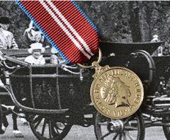 Queens DIAMOND JUBILEE Medal - Miniature