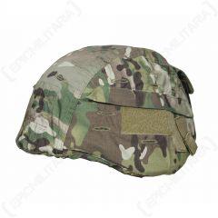 Tactical US Helmet Cover - Multitarn Camo