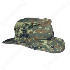 Original German Army Flecktarn Boonie Cap