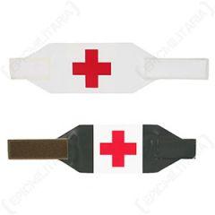 Swedish Reversible Red Cross Armband