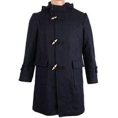 Portuguese Navy Wool Duffle Coat