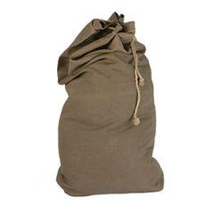 Czech Large Cotton Duffle Bag - Olive