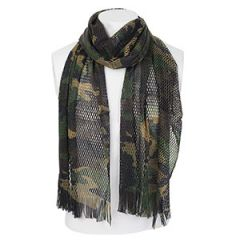 Italian Special Forces Woodland Camo Sniper Scarf