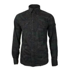 Brandit Slim Fit Shirt - Night Woodland