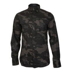 Brandit Slim Fit Shirt - Dark Camo