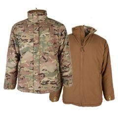 Cold Weather Reversible Jacket - Multitarn / Dark Coyote