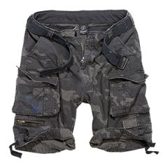 Brandit Savage Cargo Shorts - Dark Camo