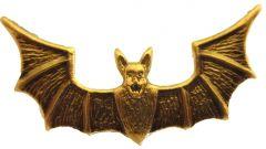 Russian Spetsnaz Bat Pin Badge - Brass Coloured