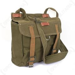 Romanian Olive Drab Bread Bag with Strap