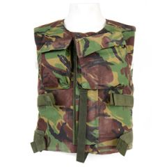 Original British Lined DPM Camo Flak Vests