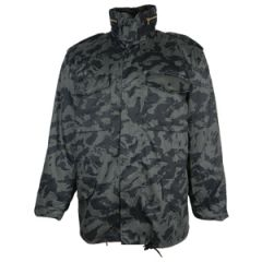 US M65 Style Field Jacket With Liner - Russian Taiga Camo