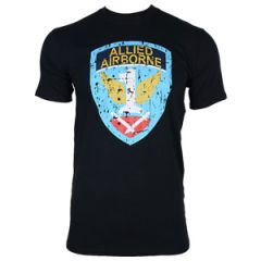 Allied Airbourne T-Shirt - Black