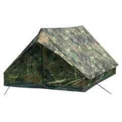 Two Person Mini Pack Super Tent - Flecktarn