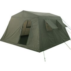 Military Style Large Tent - Olive Drab