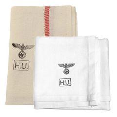 WW2 German Army Stamped Hand Towel