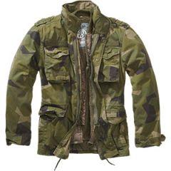 Brandit M65 Giant Jacket - Swedish Camo