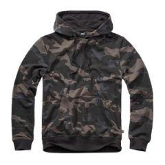 Brandit Hooded Sweat Shirt - Dark Camo