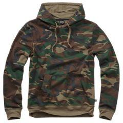 Brandit Hooded Sweat Shirt - Woodland