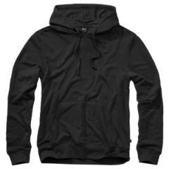 Brandit Hooded Sweat Shirt - Black