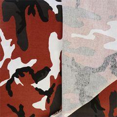 US Army Red Camo Fabric - 160cm x 100cm