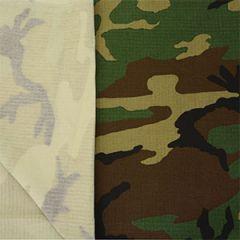 US Army Woodland Ripstop Fabric - 150cm x 100cm