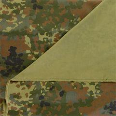 German Flecktarn Camo Field Blouse Fabric - 160cm x 100cm