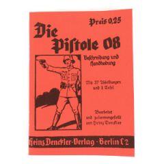 WW2 German Luger 08 Pistol Manual