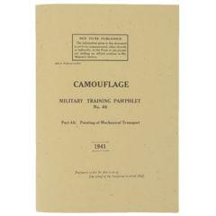 WW2 British Military Camouflage Training Pamphlet