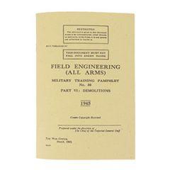 WW2 British Military Demolitions Training Pamphlet